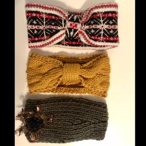 NWOT❗️Knitted Headbands